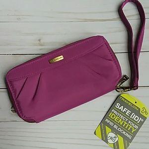 NWT Travelon wallet clutch w/ RFID